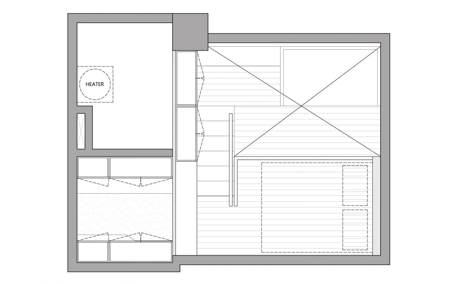 Thiết kế căn hộ diện tích nhỏ 12